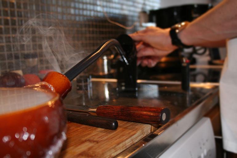 Matlagning hemma hos gäst